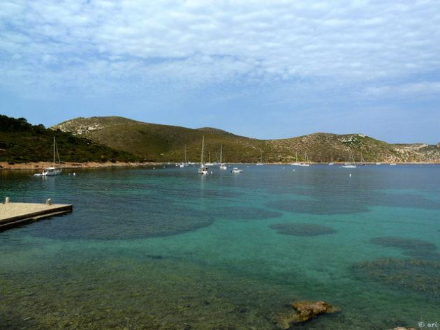 Una de les platges paradisíaques.