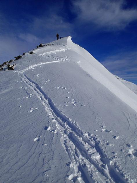 Punt més alt del coll de Montanhon.