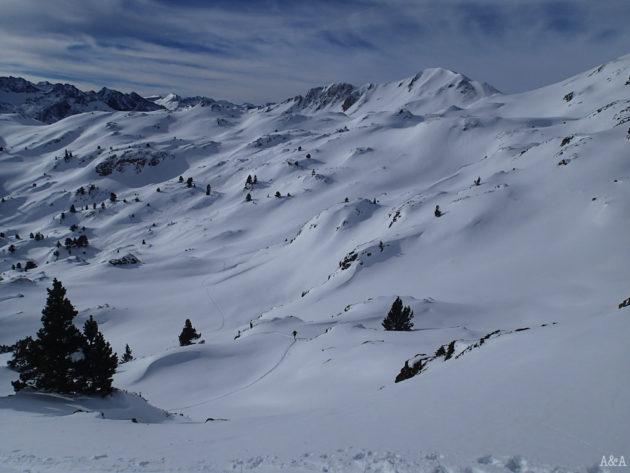 Hi ha molta neu!