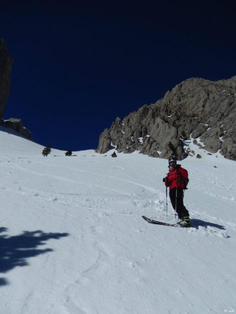 Primer tram amb bona neu.