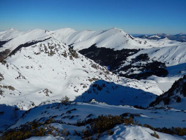 Vistes al Mont Né, el pic que vam fer ahir. Espectacular!