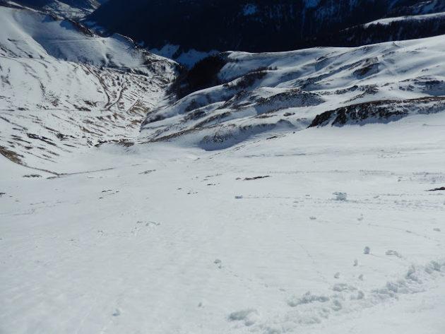 Vessant per on baixem, és una pala que s'esquia molt fàcil i disfrutona.