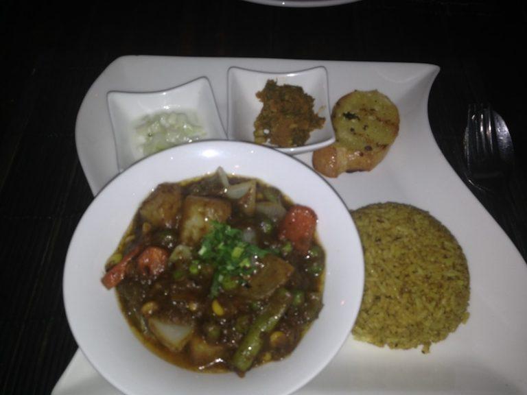 Verdures al curry.